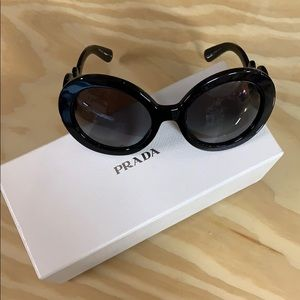 PRADA BAROQUE 55mm SUNGLASSES
